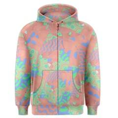 Tropical Summer Fruit Salad Men s Zipper Hoodie