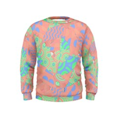 Tropical Summer Fruit Salad Kids  Sweatshirt