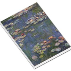 Claude Monet   Water Lilies Large Memo Pads