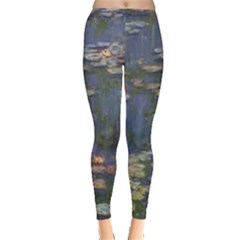 Claude Monet   Water Lilies Women s Leggings