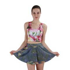 Claude Monet   Water Lilies Mini Skirts