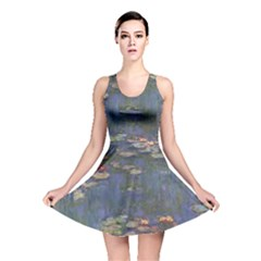 Claude Monet   Water Lilies Reversible Skater Dresses