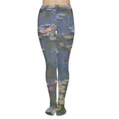 Claude Monet   Water Lilies Women s Tights