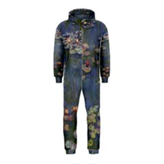 Claude Monet   Water Lilies Hooded Jumpsuit (Kids)