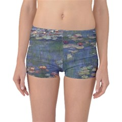 Claude Monet   Water Lilies Boyleg Bikini Bottoms