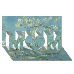 Almond Blossom Tree Mom 3d Greeting Card (8x4)