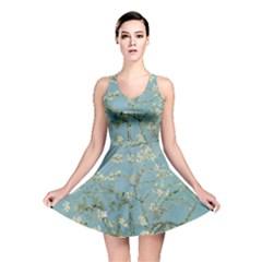 Almond Blossom Tree Reversible Skater Dresses