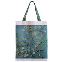 Almond Blossom Tree Zipper Classic Tote Bags