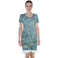 Almond Blossom Tree Short Sleeve Nightdresses