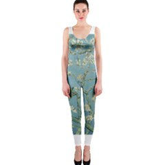 Almond Blossom Tree OnePiece Catsuits