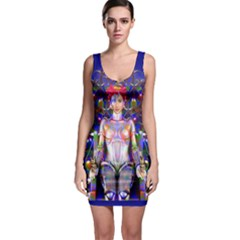 Robot Butterfly Bodycon Dresses