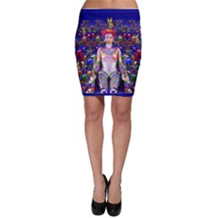 Robot Butterfly Bodycon Skirts