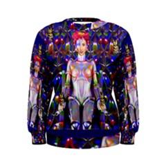 Robot Butterfly Women s Sweatshirts
