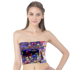 Robot Butterfly Women s Tube Tops