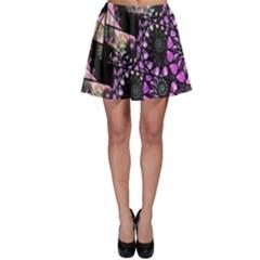 Hippy Fractal Spiral Stacks Skater Skirts