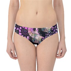 Hippy Fractal Spiral Stacks Hipster Bikini Bottoms