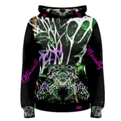 Officially Sexy Panther Collection Green Women s Pullover Hoodie