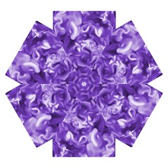 Lavender Smoke Swirls Mini Folding Umbrella