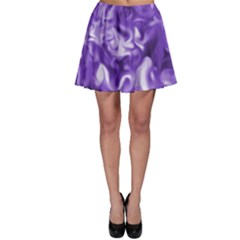 Lavender Smoke Swirls Skater Skirt