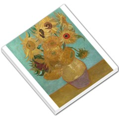 Vincent Willem Van Gogh, Dutch   Sunflowers   Google Art Project Small Memo Pads