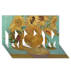 Vincent Willem Van Gogh, Dutch   Sunflowers   Google Art Project Mom 3d Greeting Card (8x4)