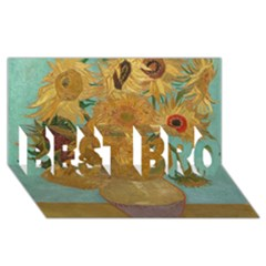 Vincent Willem Van Gogh, Dutch   Sunflowers   Google Art Project Best Bro 3d Greeting Card (8x4)