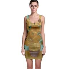 Vincent Willem Van Gogh, Dutch   Sunflowers   Google Art Project Bodycon Dresses