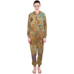 Vincent Willem Van Gogh, Dutch   Sunflowers   Google Art Project Hooded Jumpsuit (ladies)