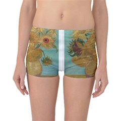 Vincent Willem Van Gogh, Dutch   Sunflowers   Google Art Project Boyleg Bikini Bottoms