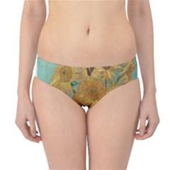 Vincent Willem Van Gogh, Dutch   Sunflowers   Google Art Project Hipster Bikini Bottoms