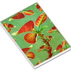 Tropical Floral Print Large Memo Pads