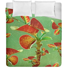 Tropical Floral Print Duvet Cover (double Size)