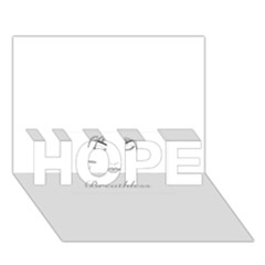 Breathless HOPE 3D Greeting Card (7x5)