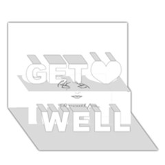 Breathless Get Well 3D Greeting Card (7x5)