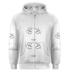 Breathless Men s Zipper Hoodies