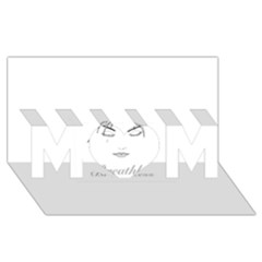 Breathless Mom 3d Greeting Card (8x4)
