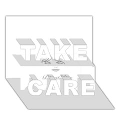 Breathless TAKE CARE 3D Greeting Card (7x5)