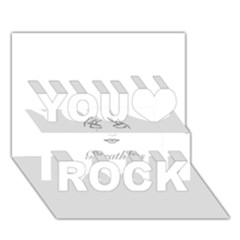 Breathless You Rock 3d Greeting Card (7x5)