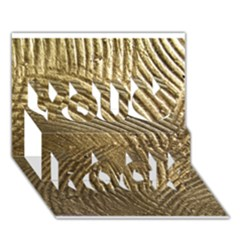 Brushed Gold 050549 You Rock 3D Greeting Card (7x5)