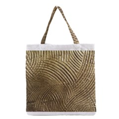 Brushed Gold 050549 Grocery Tote Bags