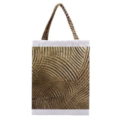 Brushed Gold 050549 Classic Tote Bags