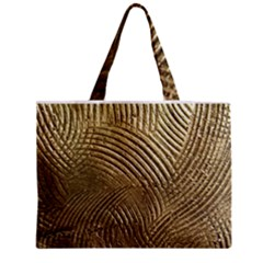 Brushed Gold 050549 Zipper Tiny Tote Bags