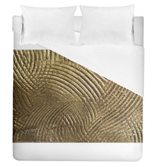 Brushed Gold 050549 Duvet Cover Single Side (full/queen Size)