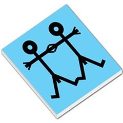 Love Men Icon Small Memo Pads