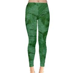 Woven Skin Green Women s Leggings
