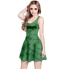 Woven Skin Green Reversible Sleeveless Dresses