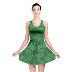 Woven Skin Green Reversible Skater Dresses