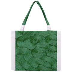 Woven Skin Green Tiny Tote Bags