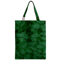 Woven Skin Green Classic Tote Bags