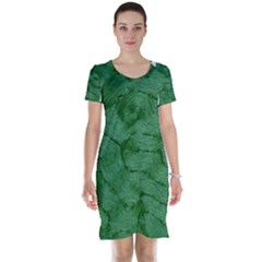 Woven Skin Green Short Sleeve Nightdresses